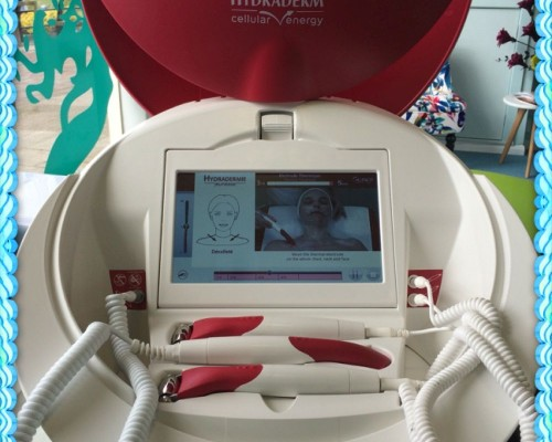 Our new Hydradermie cellular energy machine for anti ageing facial treatments